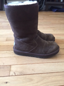 Ugg Boots Chocolate Brown Size 4