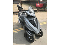 2014 Piaggio MP3 Yourban Sport LT 278cc in Grey great condition not 500