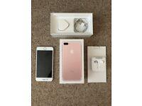 Apple Iphone 7 Plus - 32Gb - Rose Gold - Excellent Condition