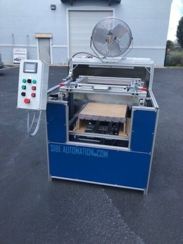 """SIBE AUTOMATION VACUUM FORMING MACHINE 24"""" X 24"""" THERMOFORMING INFRARED HEATERS"""