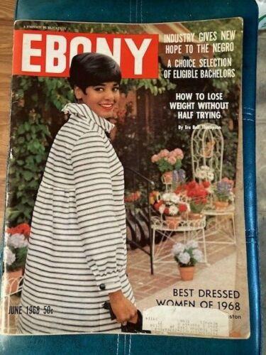 Vintage Ebony Magazine Jun 1968 Mrs. Norman Houston