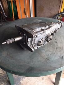 General Motors Saginaw 4 speed gearbox