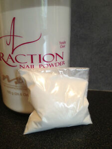 ★ NSI Attraction Acrylic powder Totally Clear 40g Refill New ★