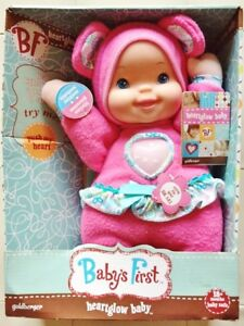 NEW 'BABY'S FIRST HEARTGLOW BABY'