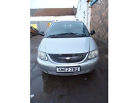 * Finance Me - No VAT * Chrysler Grand Voyager 2.5 Clean, Cheap & Low Mileage