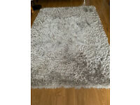 Large Grey Rug 160 x 230 cm