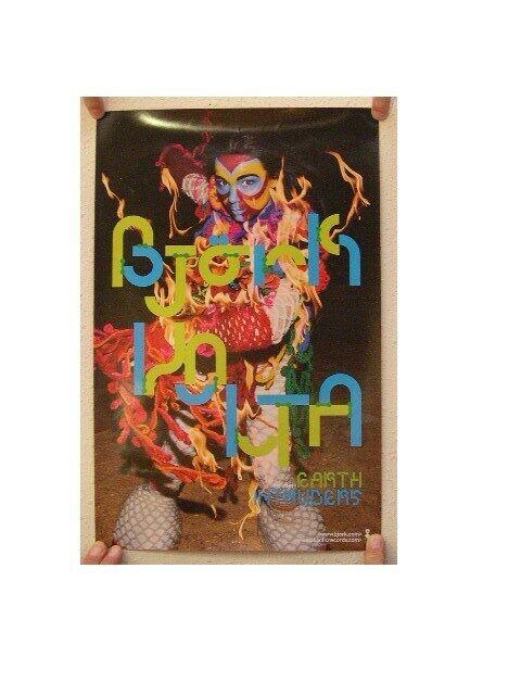 Bjork Poster Colorful Dancer Volta Costume Promo
