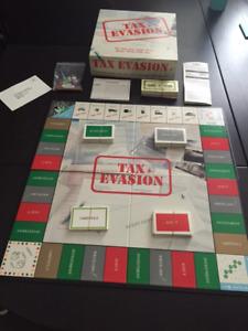 Tax Evasion Game