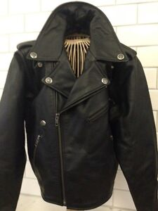 GENUINE LEATHER KIDS HARLEY-DAVIDSON  BIKER JACKET