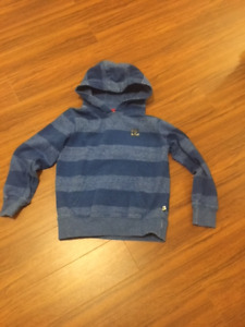 DC   BOYS  SIZE 8   SWEATER/HOODIE:   WORN ONCE