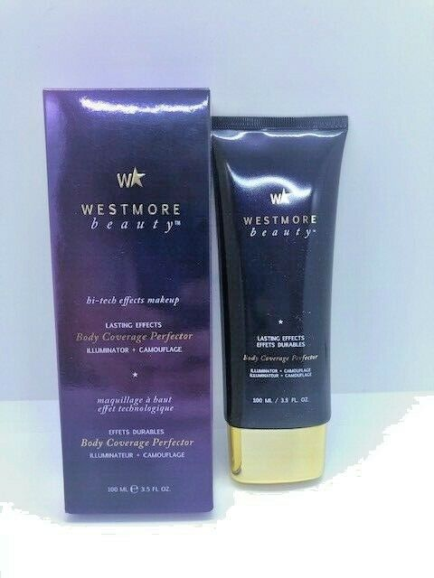 Westmore Beauty Lasting Effects Body Coverage Perfector Select Shade 3.5 oz!!
