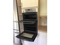 NEFF Stainless Steel Double Oven and grill