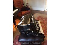 Delicia Piano Accordion - perfect condition