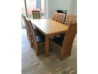 Dining Room Table and 8 chairs for sale