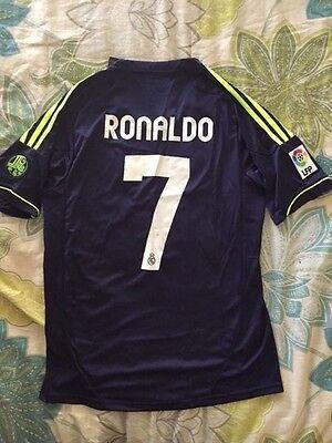 c8c97d54 REAL MADRID CRISTIANO RONALDO SHORT SLEEVE 2012/13 AWAY JERSEY SIZE SMALL