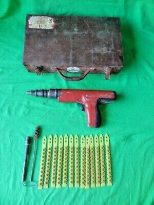 Hilti Dx-350 Powder Actuated Fastening Systems Nail Gun Tool 130 Rounds Case