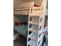 Custom made children's bunk bed - with extra wide steps for safety. Good condition, though used.
