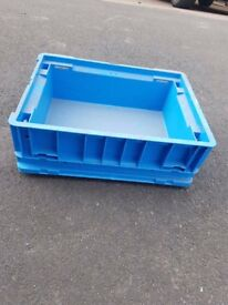Stackable logistics small part Storage boxes