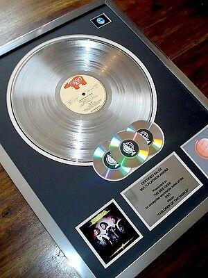 BEE GEES CHILDREN OF THE WORLD LP MULTI PLATINUM DISC RECORD AWARD ALBUM