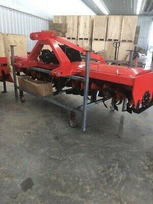 Extra Heavy Duty 3 Point 10 Ft. Rotary Tiller Tractor Tiller