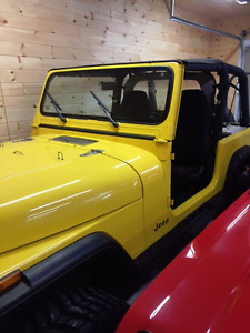 1992 Jeep YJ    ** MINT **