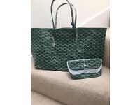 Tote handbag variety colours comes with coin purse