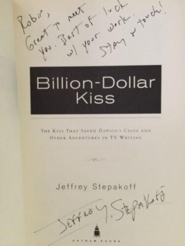 BILLION DOLLAR KISS 1ST inscribed JEFF STEPAKOFF