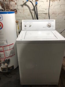 FREE!  Working Kenmore Washer and Dryer.  Must Pick Up.