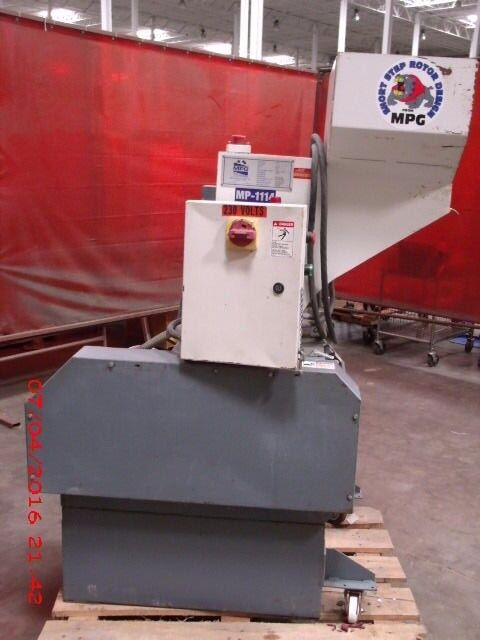 MPG Plastic Grinder Granulator   Model MP-1114
