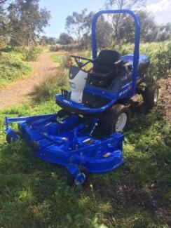 "ISEKI SF370 OUTFRONT MOWER WITH 72"" CUT DECK"