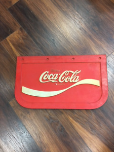 VINTAGE COKE MUD FLAP