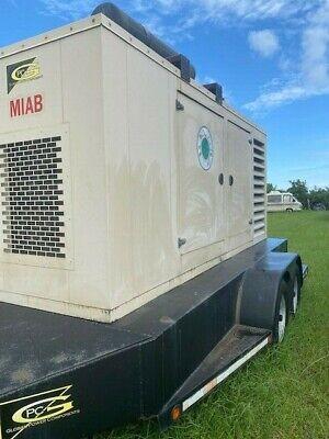 Kohler Industrial Towable Diesel Generator 100reozj With Trailer