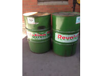 Green matching oil pan steal drum barrels for sale can cut can deliver.