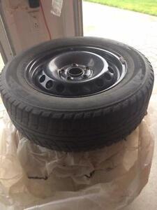 Winter Tires on Rims - 195/65R15 91T