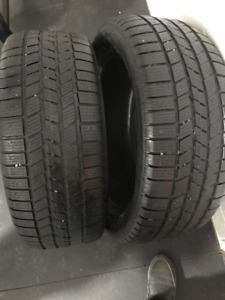 2 pneus hiver Pirelli Scorpion 255/50R20