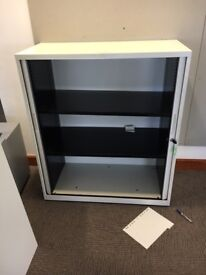 office furniture 1.2 meter tambour cupboards with shelves/suspension pullouts