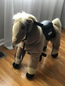Little Tikes Giddy Up N Go Pony Horse Child Ride Toy -Like New