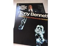 Tony Bennett vinyl records