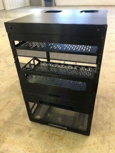 A/V Cabinet Rack on casters