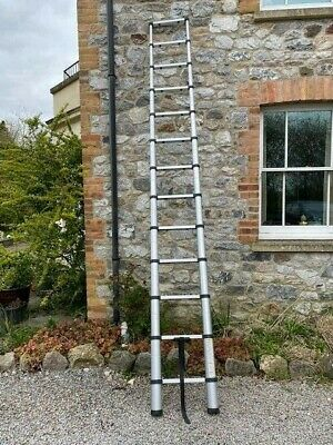 Aluminium telescopic ladder 5m