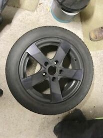 4x Winter Runflat Tyres & Alloys - 205/55 R16 91H