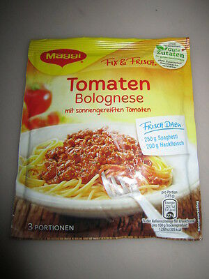 7 x MAGGI Spaghetti Tomato Bolognese Sauce New from Germany Bolognese Tomato Sauce
