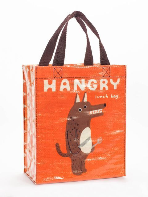Blue Q Bags, Handy Tote, Hangry Lunch Bag