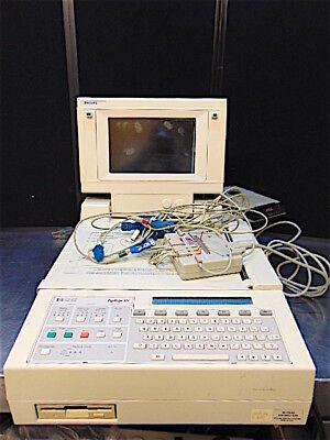 Hp Pagewriter Xli Ekg Machine With Philips M1700-69501-powers Up-s105x