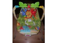 Fisherprice baby bouncer (with box)