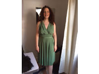Dessy 'Twist Wrap' Bridesmaid Dress