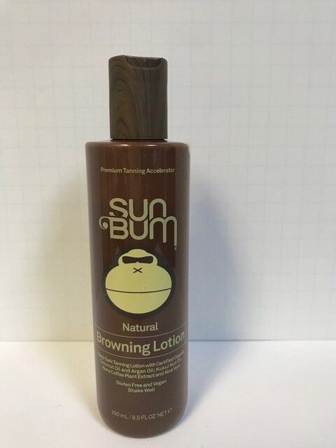 SUN BUM NATURAL BROWNING LOTION - 8.5oz