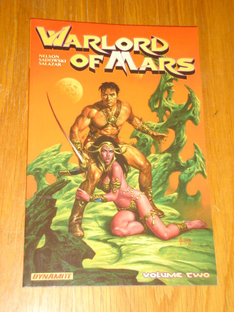 WARLORD OF MARS VOLUME 2 DYNAMITE ENTERTAINMENT ARVID NELSON GN 9781606903360 >