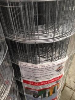 10cm x 10cm x 30m Welded Wire Mesh $56 per roll