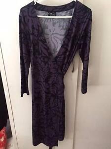 Jersey Wrap Dress Sz M Carly Q Brand Weston Weston Creek Preview